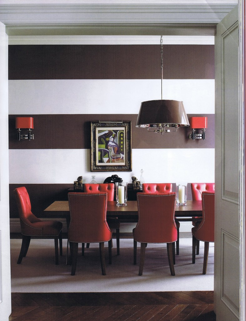red-brown-dining-room-with-pops-of-red