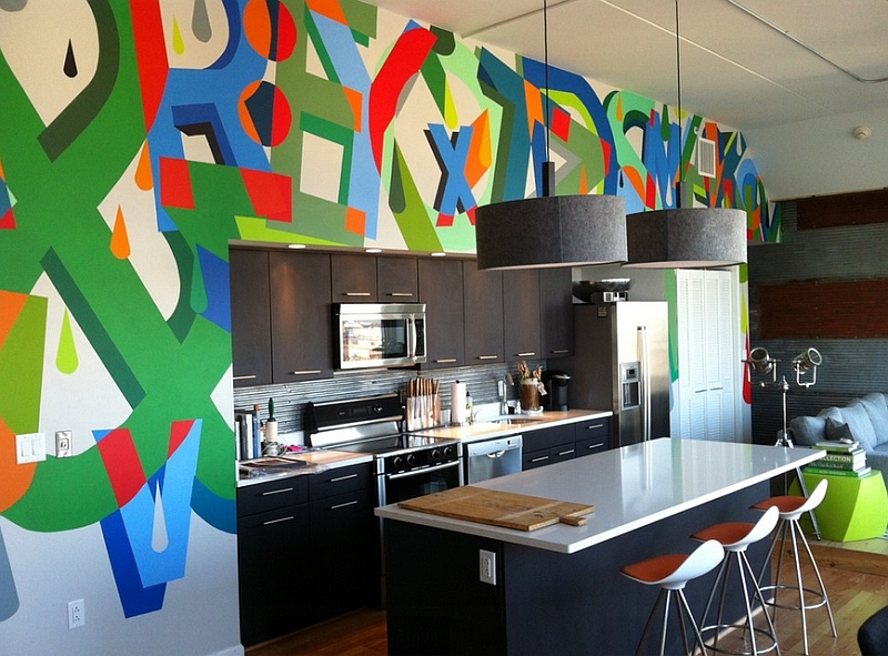 Add-a-splash-of-color-to-the-kitchen-with-the-graffiti-wall
