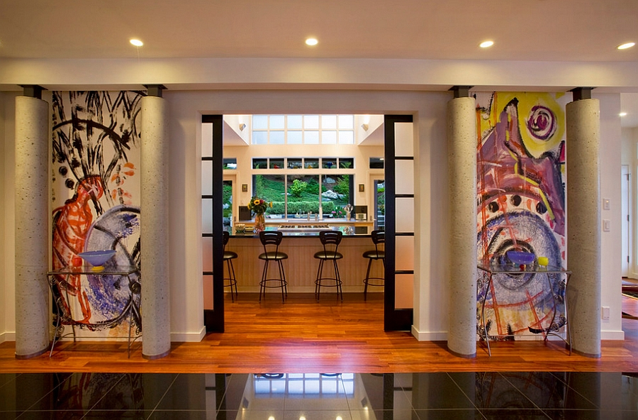 Highlight-the-entrance-of-the-room-with-graffiti-additions