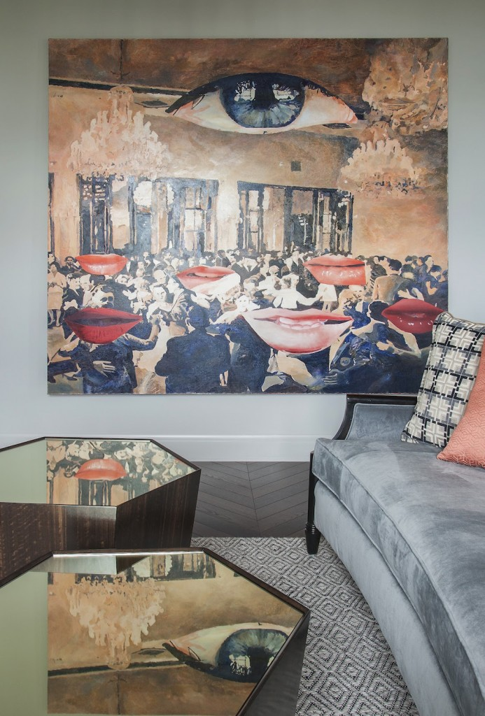 Art-decor-apartment-painting-on-wall