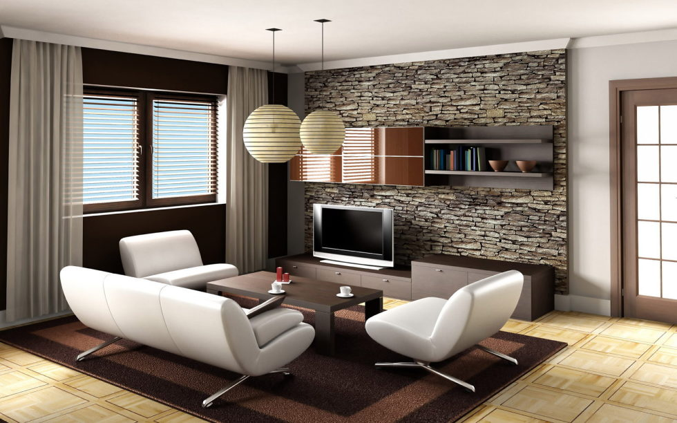 Decoration-Of-A-Living-Room-In-Beige-Colour-980x613